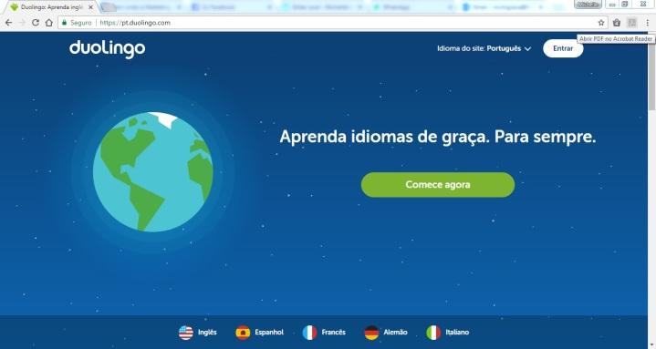 site duolingo