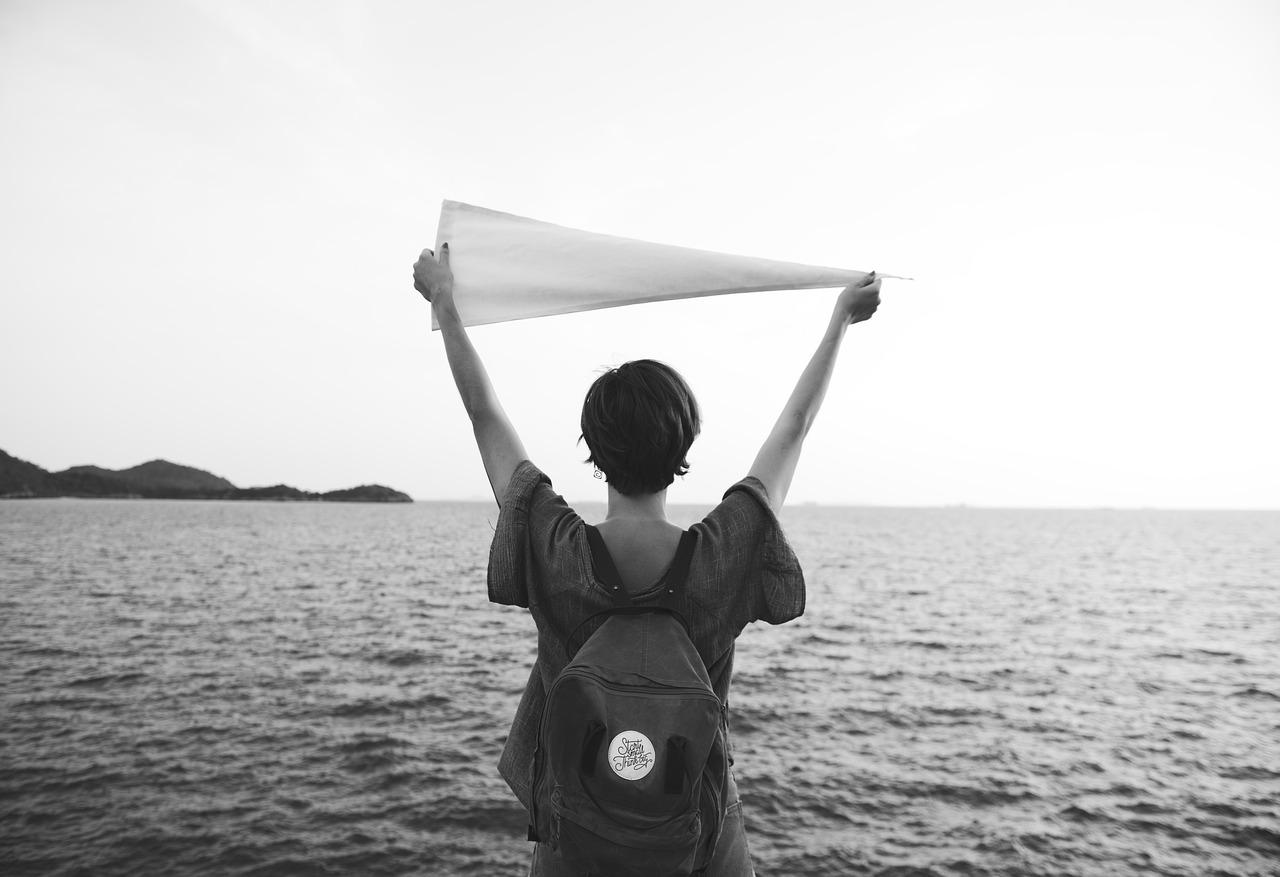 mulher viajante