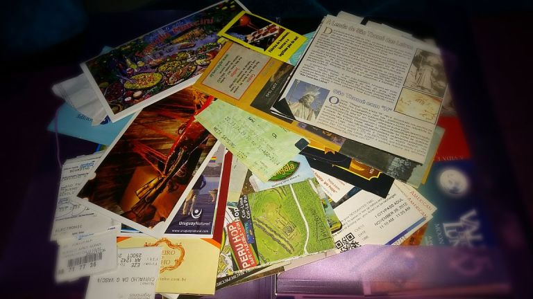 tickets de viagens