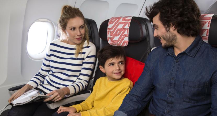 Dicas para manter as crianças entretidas antes e durante uma viagem deavião
