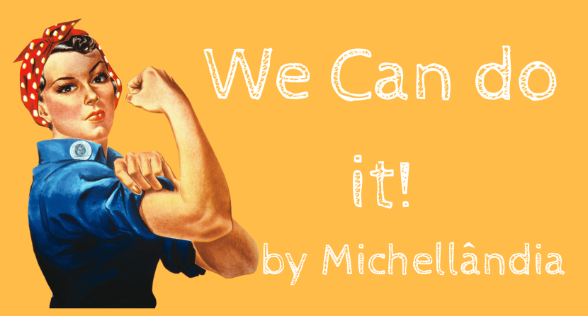 We can do it! By Marília Breite – Papel com Clips